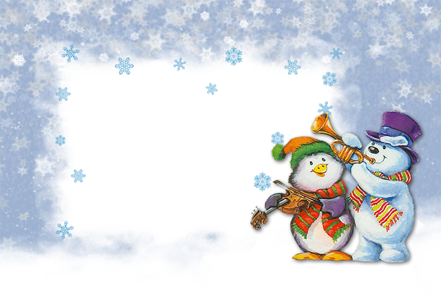 wframe 14png - Winter Picture Frames