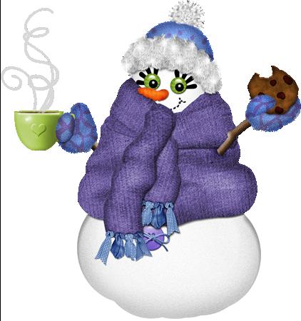 Funny Winter Clip Art
